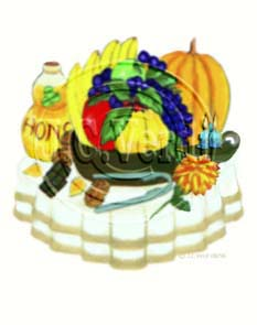 Autumn Platter Decal